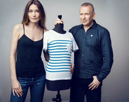 French girl in seattle la marini re the french sailor shirt - Jean paul gaultier mariniere ...