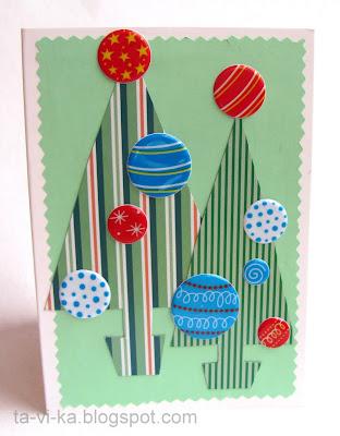 Новогодние открытки 1