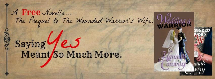 http://www.amazon.com/Wedding-Warrior-Hannah-Conway-ebook/dp/B00S5P32P2/ref=sr_1_1?ie=UTF8&qid=1422305289&sr=8-1&keywords=hannah+conway&pebp=1422305311852&peasin=B00S5P32P2