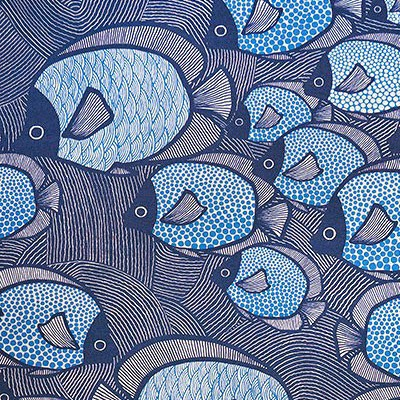 Pattern ryby on pinterest fish illustration fish and koi for Fish pattern fabric