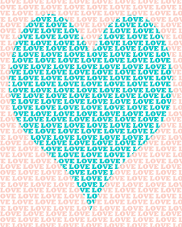 blue and pink love heart printable