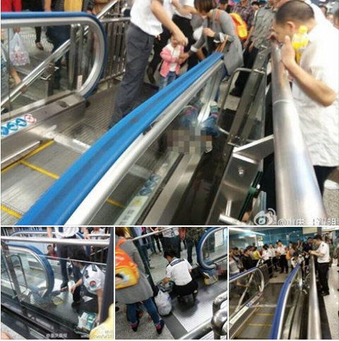 BREAKING NEWS! 4-year-old boy dies in latest escalator tragedy in China