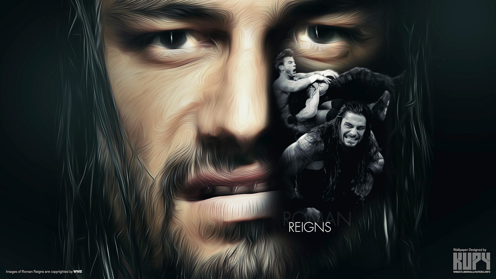 Roman Reigns Wwe New HD Wallpapers - Wallpapers