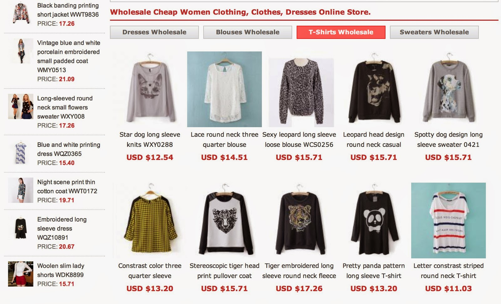 Wholesale Clothing In Usa