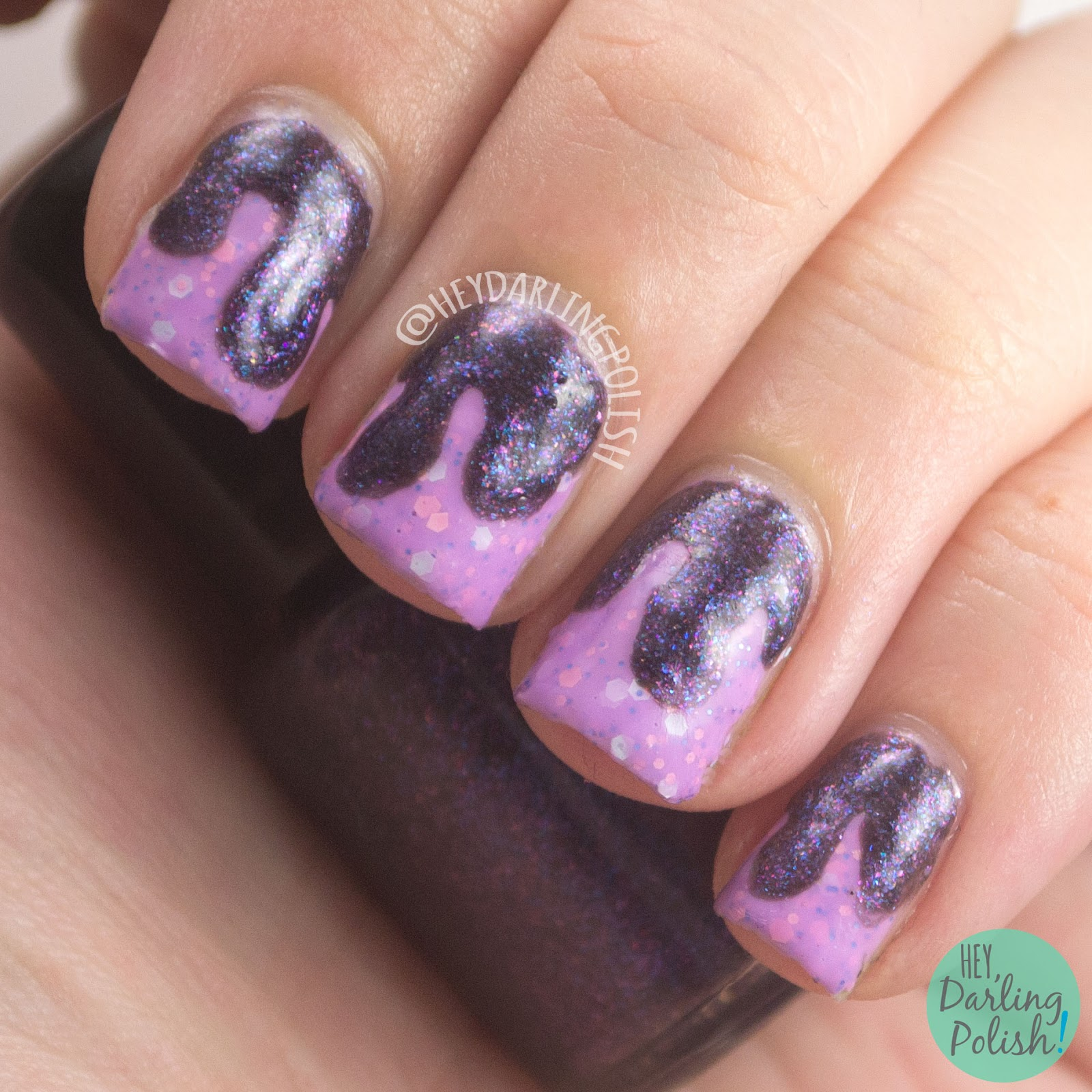 summer fling, dancing in the moonlight, drips, drip nails, nails, nail art, nail polish, indie, indie polish, farewell summer, live life polished, hey darling polish,