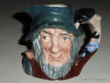 Rip Van Winkle Toby Jug D6463