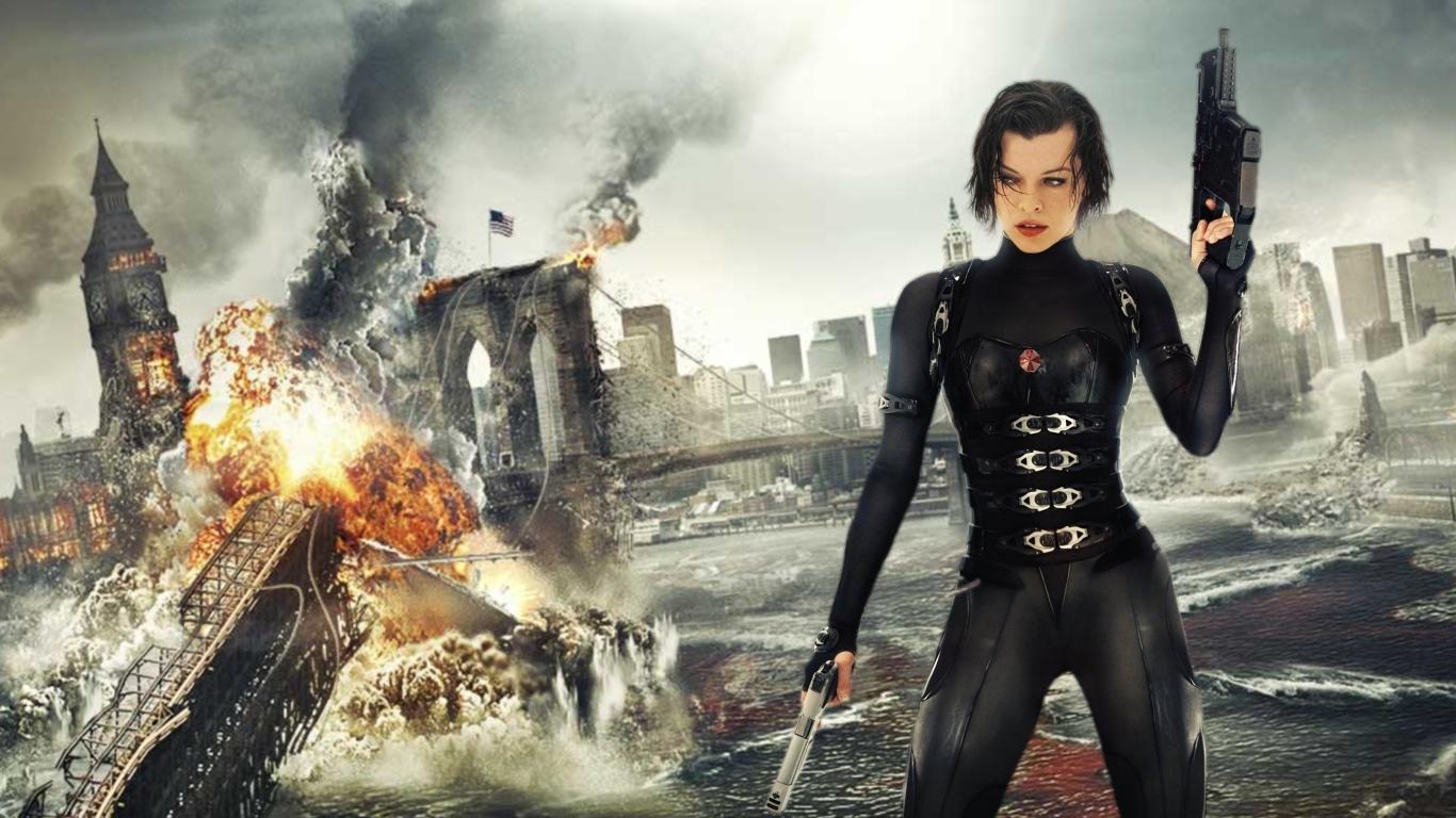 Alice in Resident Evil 5 Retribution Movies Wallpaper  - alice in resident evil 5 retribution wallpapers