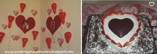 aniversário surpresa do namorado