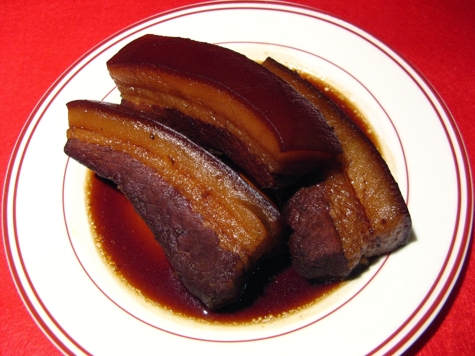 Duck Soup Easy: Cumin Red Cooked Pork (孜然紅燒肉, Zi1 Jin4 Hung4 ...