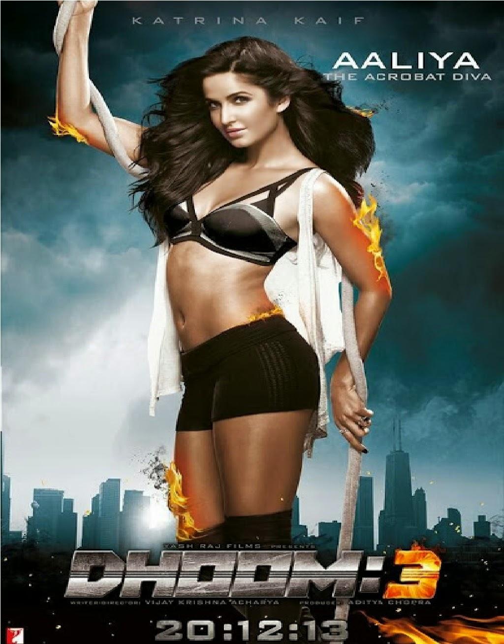Katrina Kaif  Dhoom 3 Hot Wallpaper