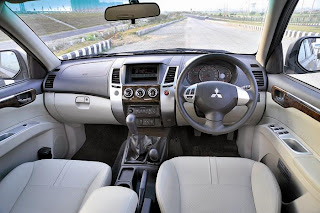 new mitsubishi sport interior view