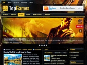 TopGames - Free Wordpress Theme