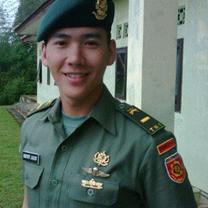 foto tenteng letda panji tentara ganteng profil biodata tentara bikin heboh di twitter panji onyon