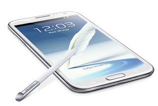Spesifikasi dan Harga Samsung Galaxy Note II