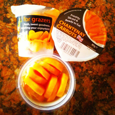 Chantenay Carrot Snack Pots