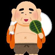 布袋のイラスト(七福神)
