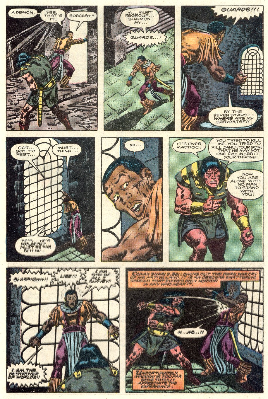 Conan the Barbarian (1970) Issue #184 #196 - English 21
