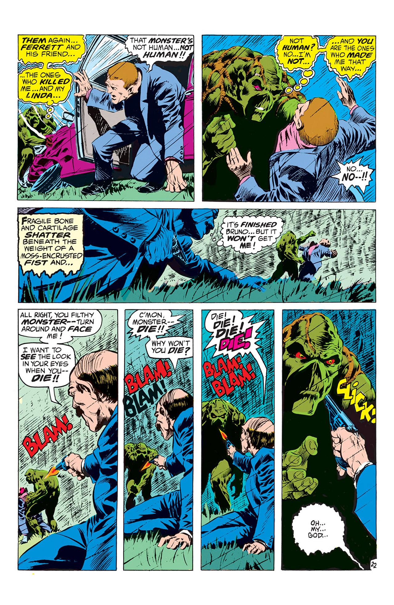 Swamp Thing (1972) Issue #1 #1 - English 23