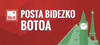 POSTA BIDEZKO BOTOA