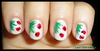 weekend manicure poppy fields