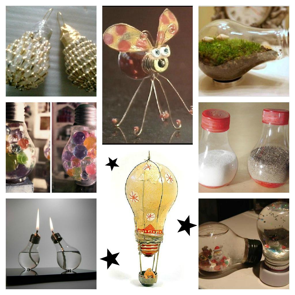 Lovers crafts que no se te apague la bombilla - Decoracion casa manualidades ...