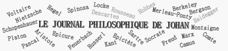 LE JOURNAL PHILOSOPHIQUE DE JOHAN