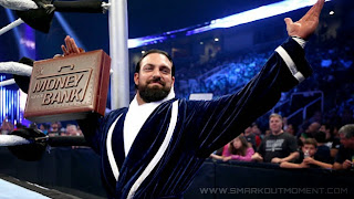 New World Heavyweight Champion Damien Sandow MITB John Cena