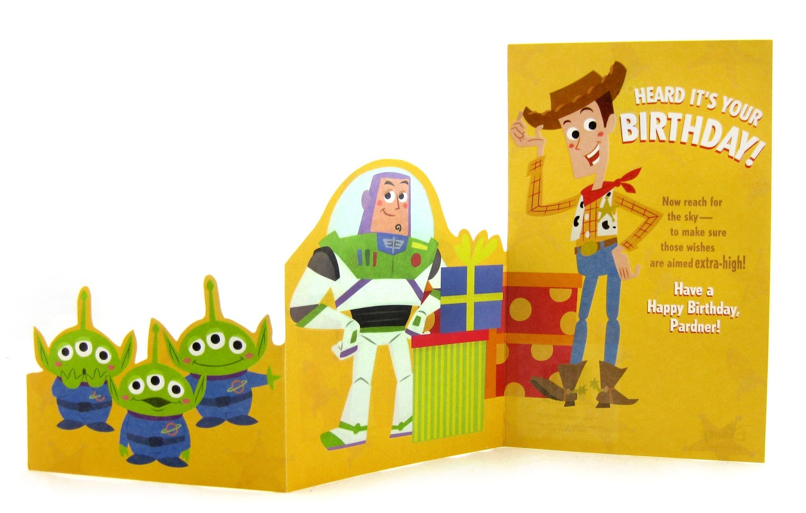 dan the pixar fan toy story birthday card target, Birthday card
