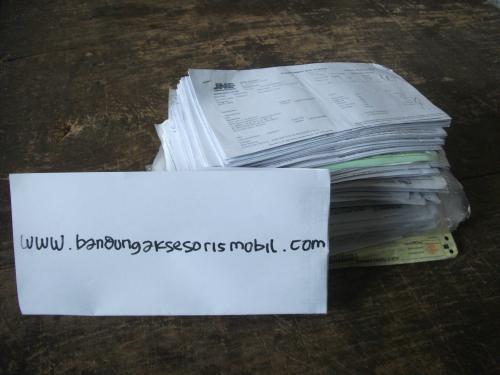 Bukti No Resi Bandung Aksesoris Mobil