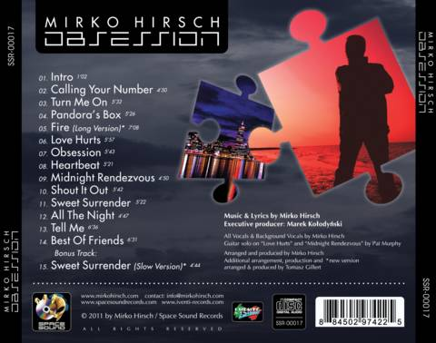 Mirko Hirsch - Obsession (Full CD 2011)
