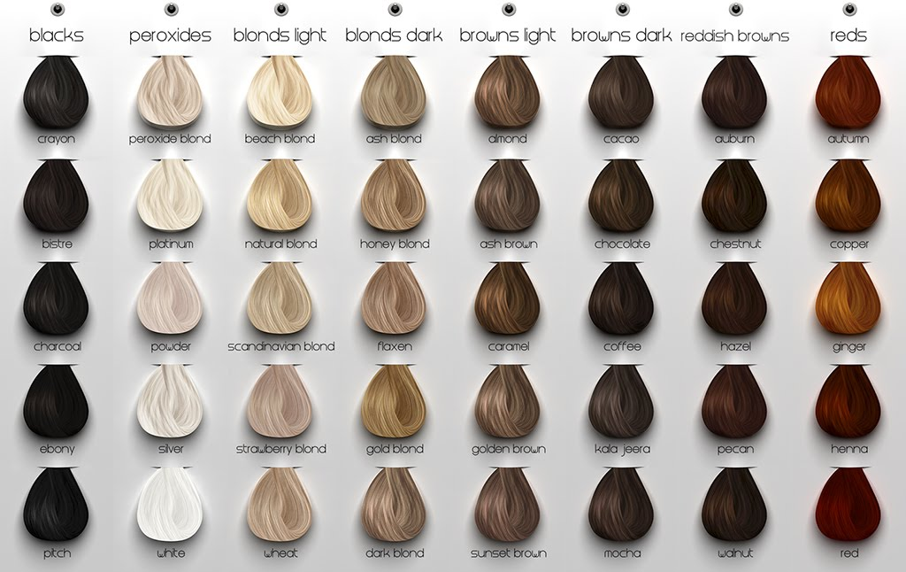 all hair colors chart: Xp100 produo of xp200 hair color chart dagpress com