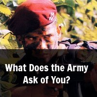 What Does the Army Ask of You?
