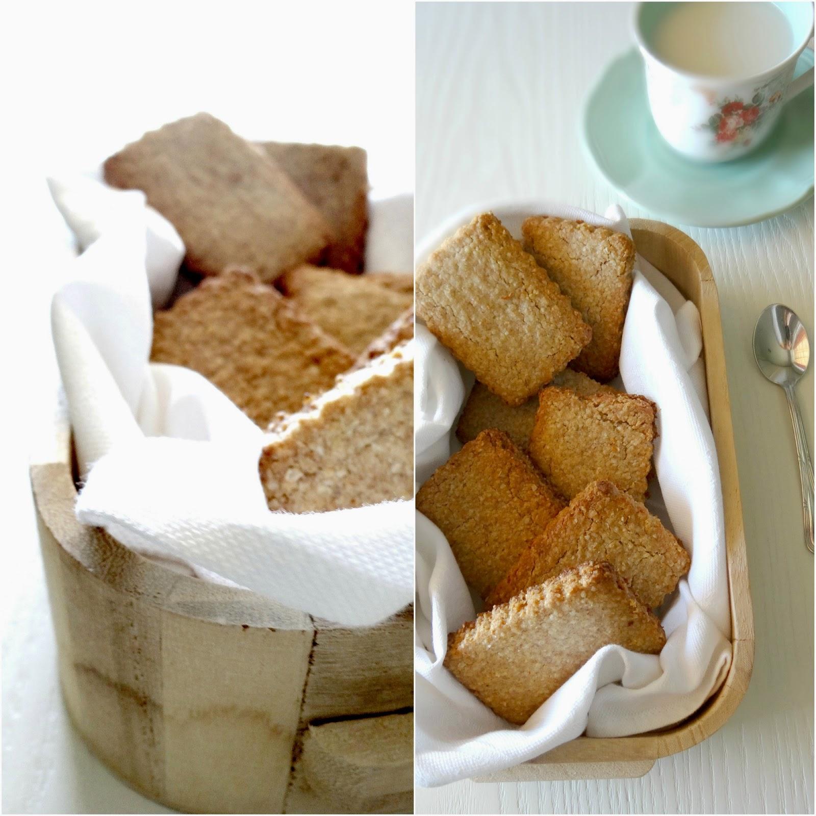 Digestive, biscotti inglesi, biscotti integrali, avena, latte, miele, limone