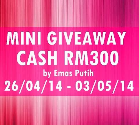 Mini GA Cash RM350 by Emas Putih #part2