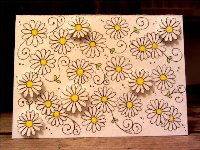 papercraft daisies