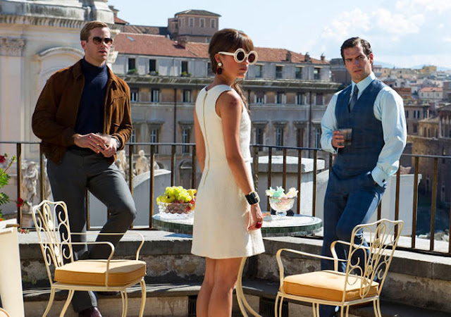 "Armie Hammer, Alicia Vikander, and Henry Cavill are charming spies in ""The Man from U.N.C.L.E."""