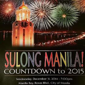 Sulong Manila 2015: Manila New Year Countdown