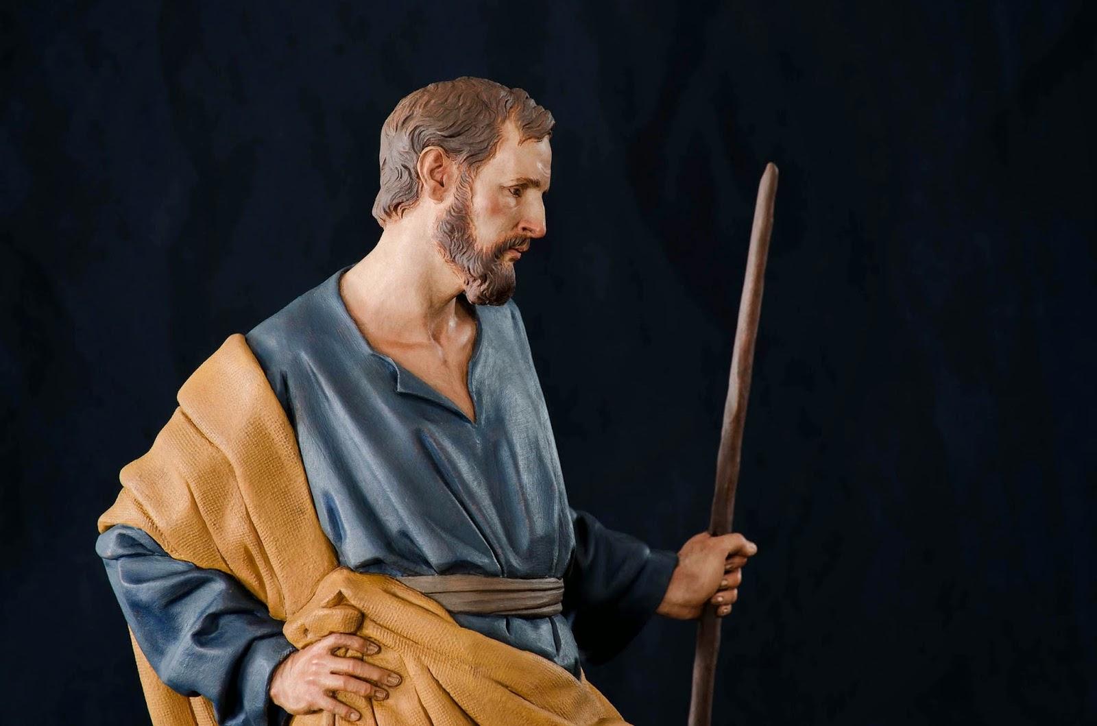 Nacimiento Belén Nativity presepe krippe Arturo Serra Barro cocido 16