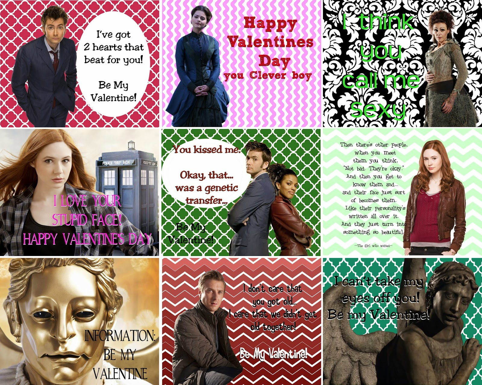 doodlecraft doctor who valentine printables