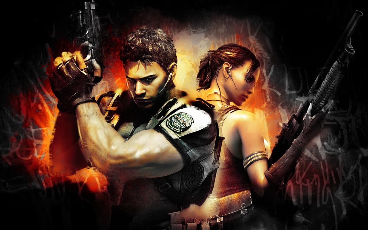 Video game gallery wallpaper avatars more - Wallpaper resident evil 5 ...