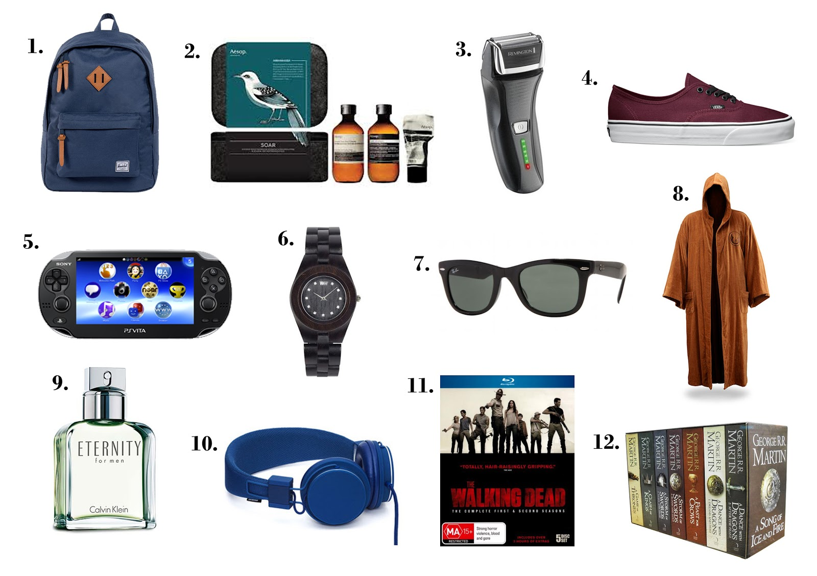 Mishelle 39 s sleepy time holiday gift guide part 5 for Best christmas gifts for boyfriend 2012