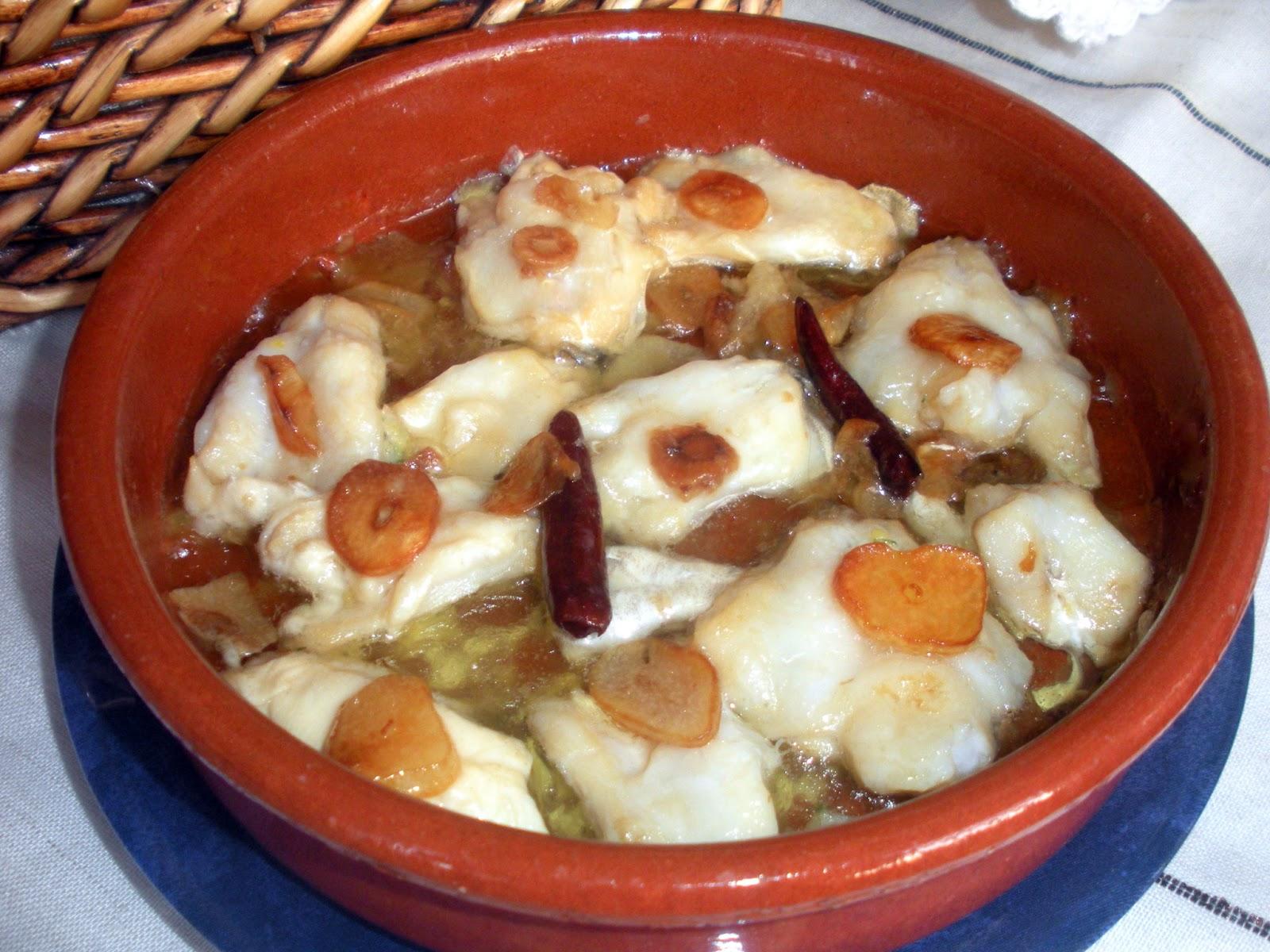 aqu se cocina cocochas de bacalao al ajillo