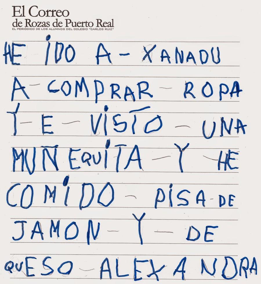El Correo De Rozas De Puerto Real He Ido A Xanad