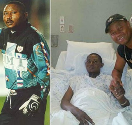 nigerian footballer cancer