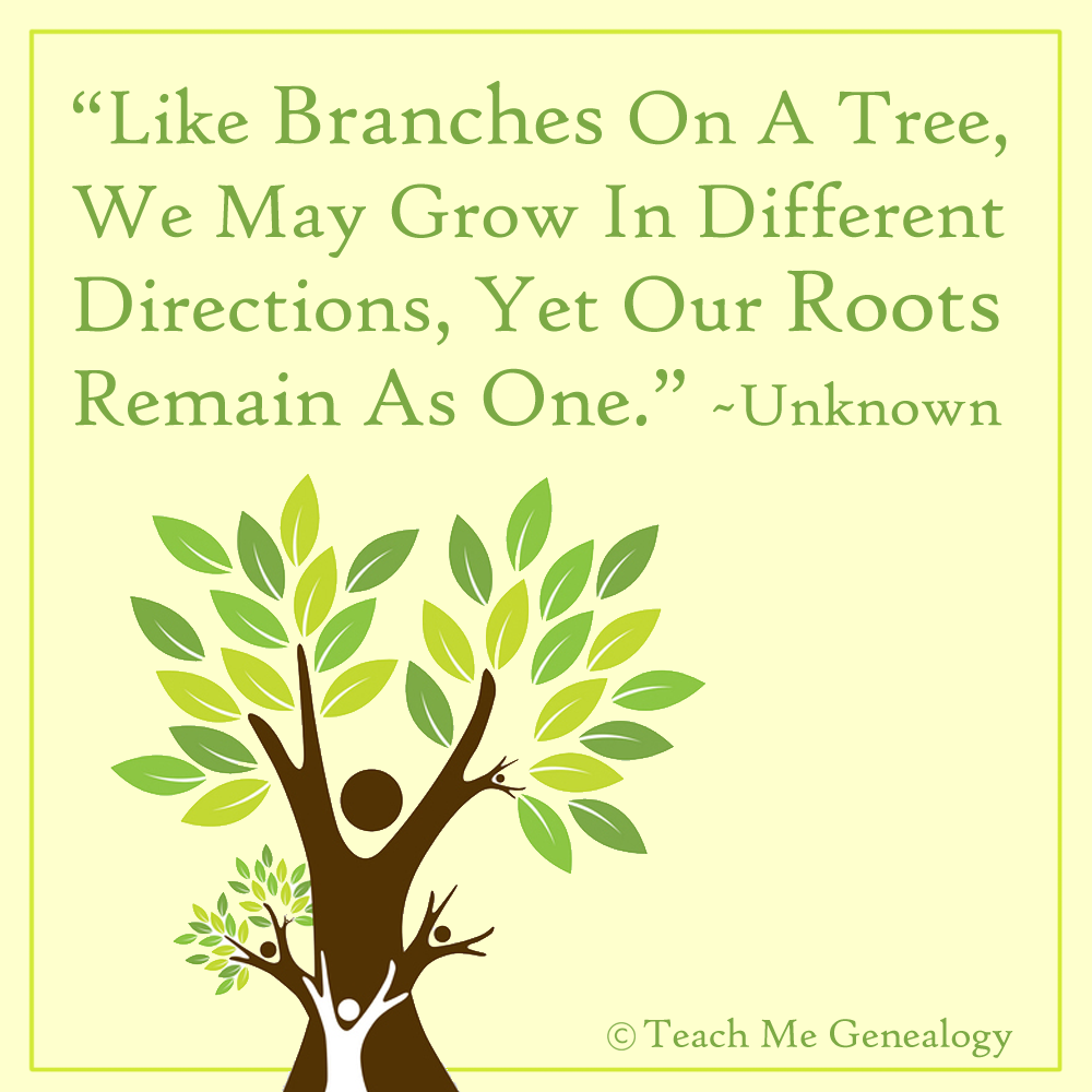 """valentines day gift for families - """"Like Branches A Tree We May Grow In Different"""
