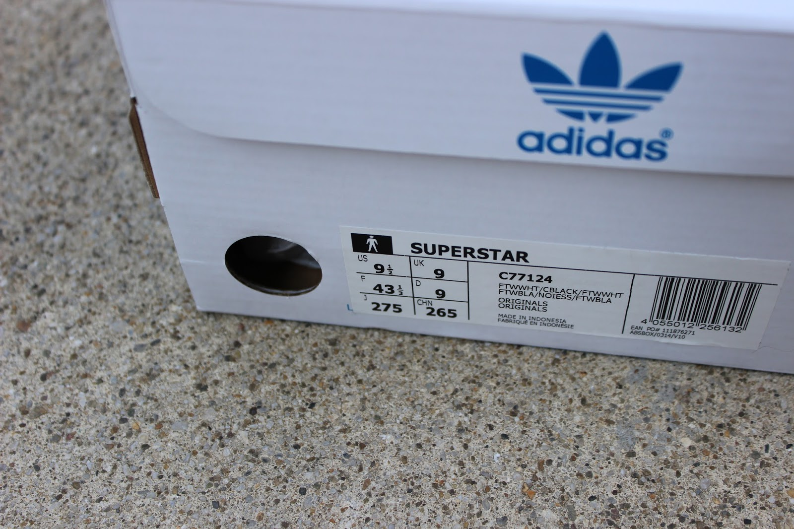 Adidas Superstar Unboxing