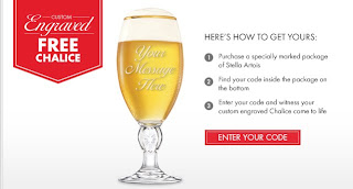 Stella Artois Custom Engraved Chalice