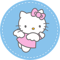 Free printable hello kitty cupcake topper free download cute free printable hello kitty cupcake topper maxwellsz