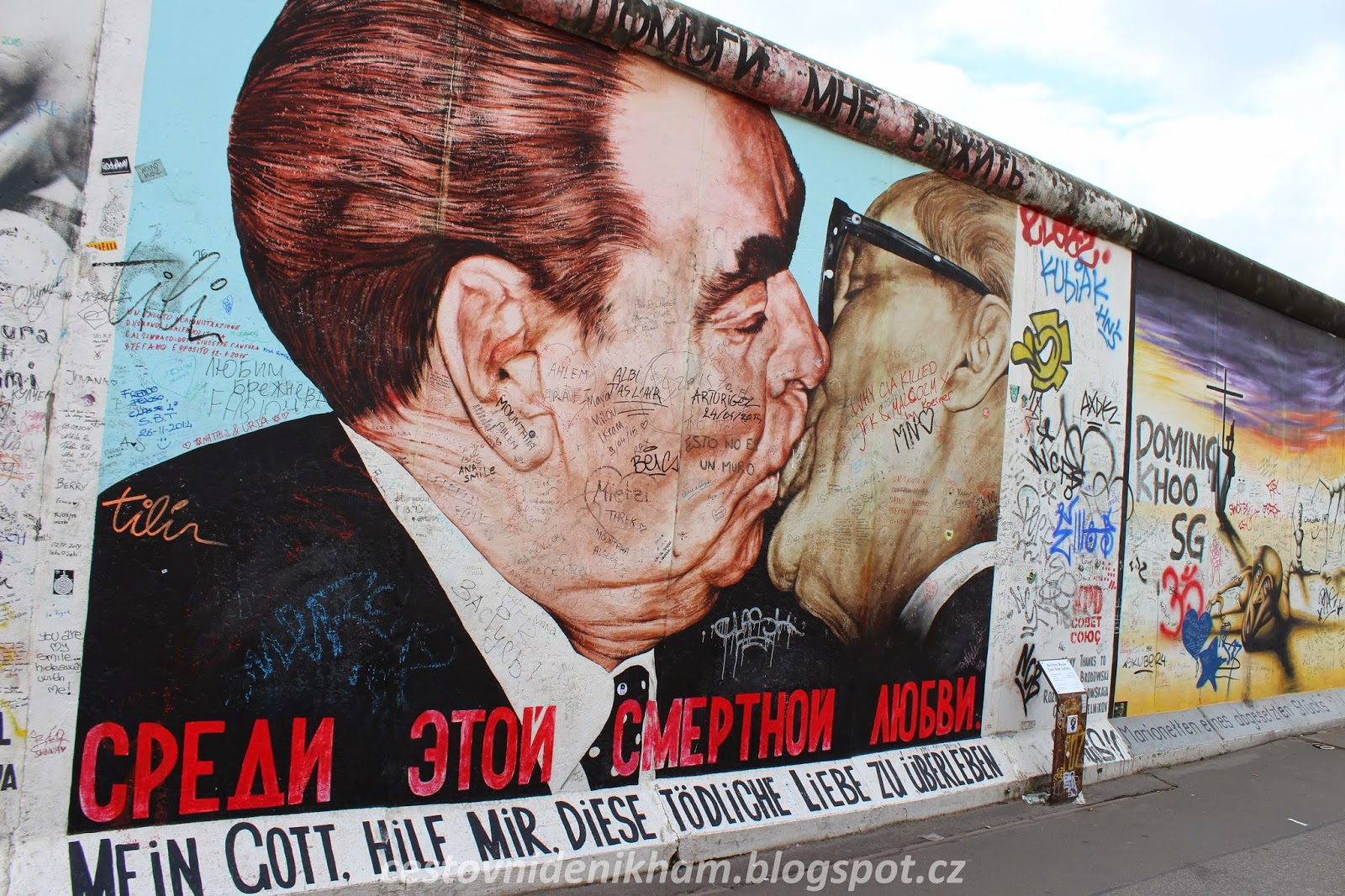 berlínská zeď // berlin wall
