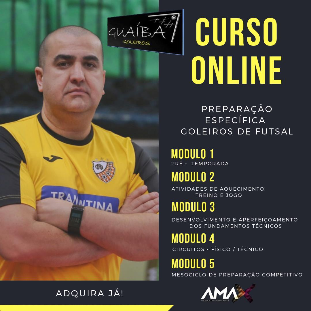 CURSO ONLINE - PREP. DE GOLEIROS PROF. GUAÍBA
